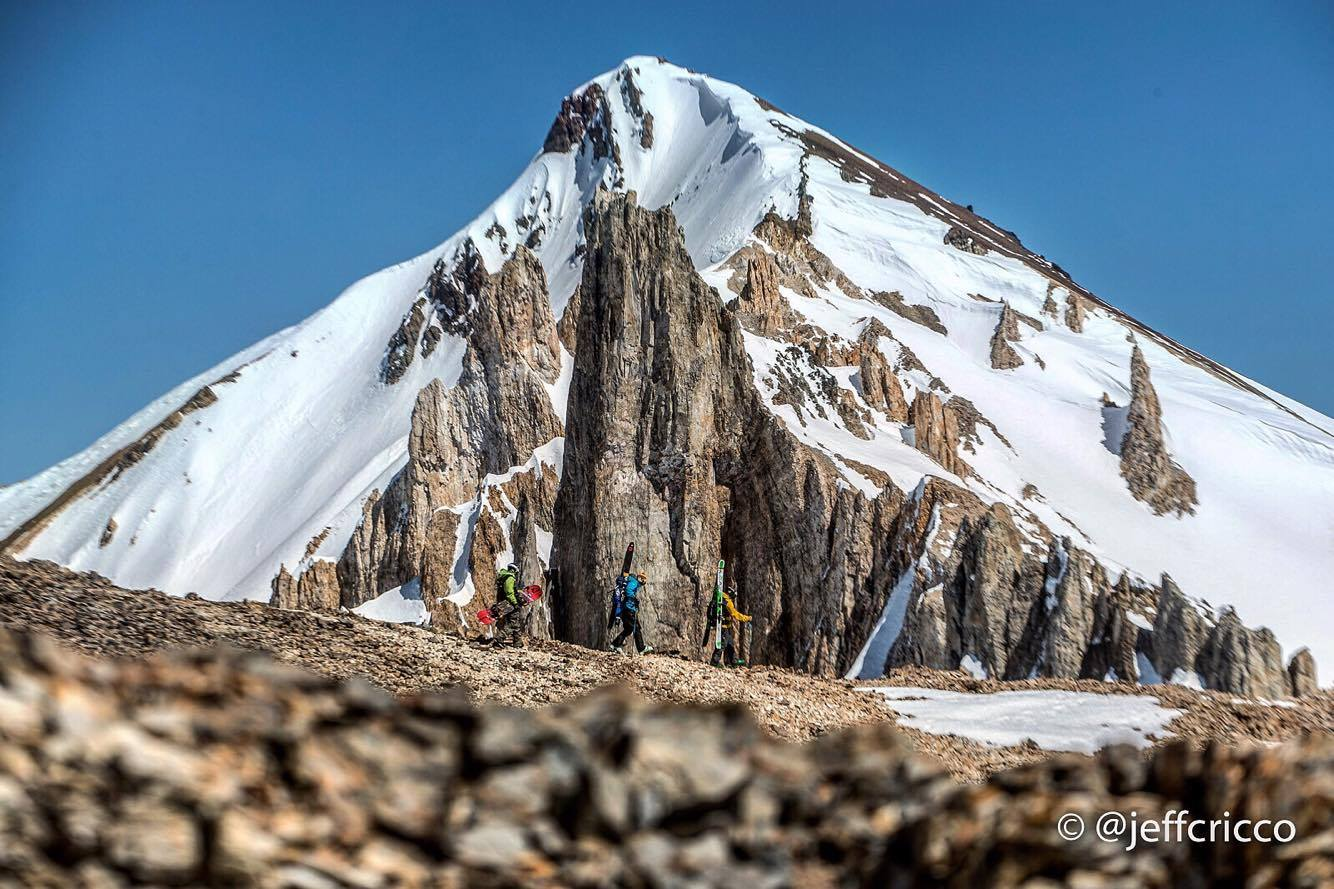 Hiking up to the top of Cerro Martin (3200m) Photo by Jeff Cricco